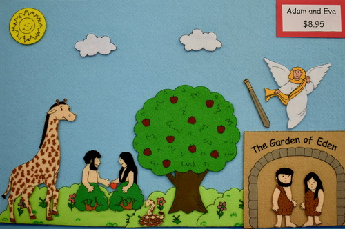 Adam and Eve picture