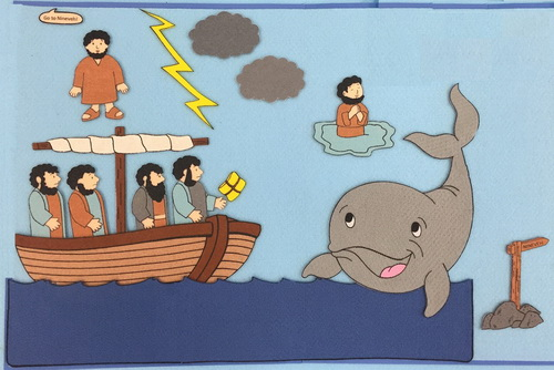 Jonah and the Whale picture